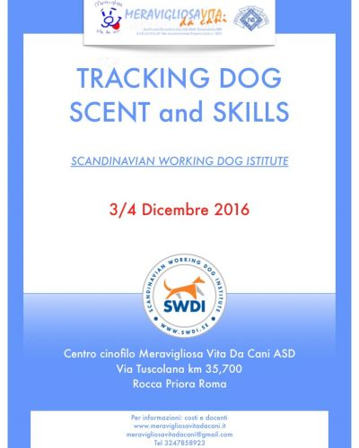 Traking Dog-Scent end Skill